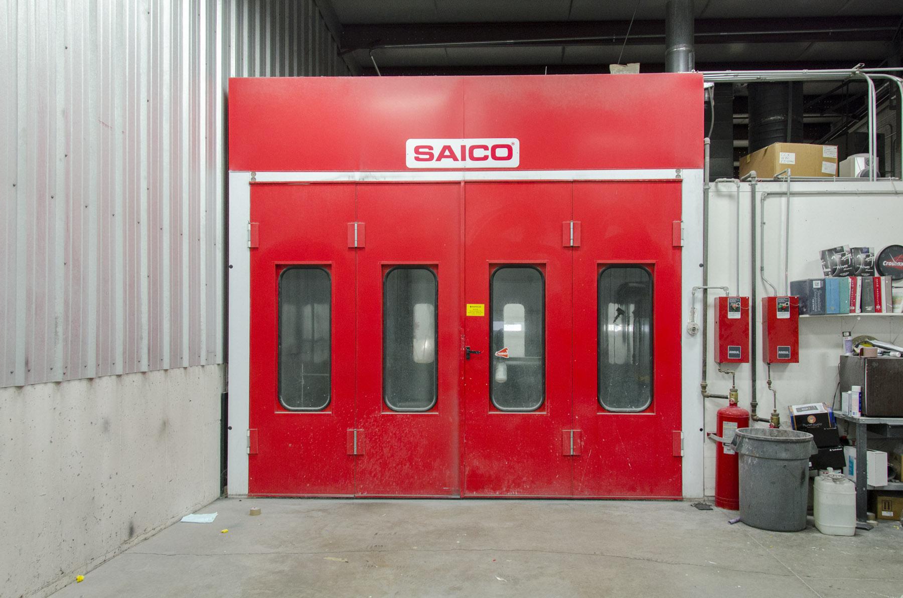 Saico Paint Oven